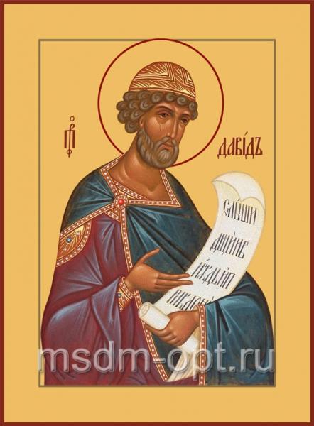 Давид царь и пророк, икона (арт.493)