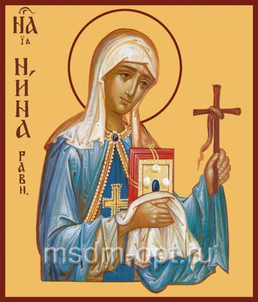 Нина равноапостольная, икона (арт.498)