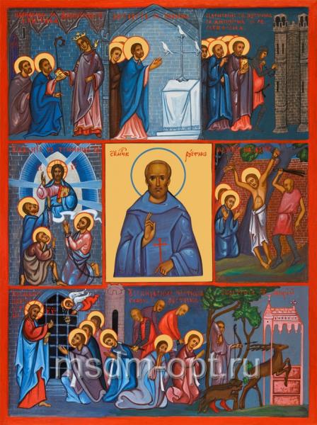 Рустик Парижский священномученик, икона (арт.00500)