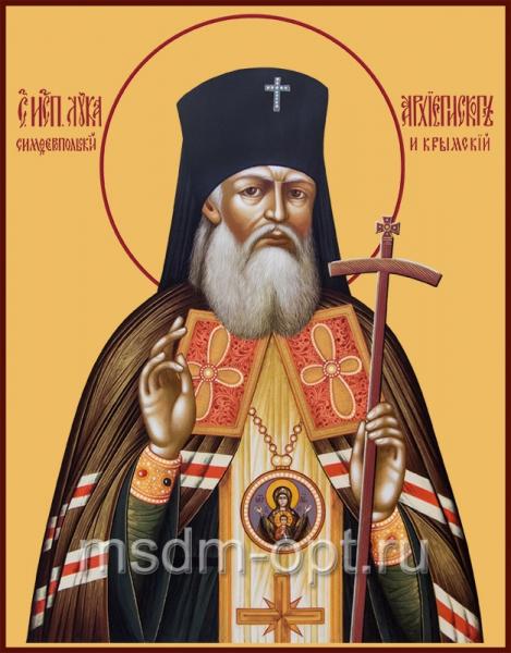 Лука святитель, исповедник, архиепископ Крымский, икона (арт.00507)