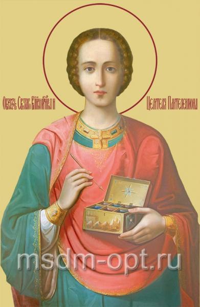Пантелеимон великомученик и целитель, икона (арт.508)