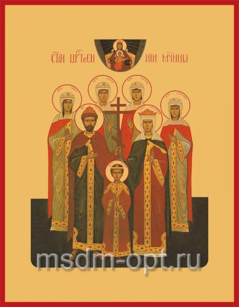 Царственные мученики, икона (арт.538)