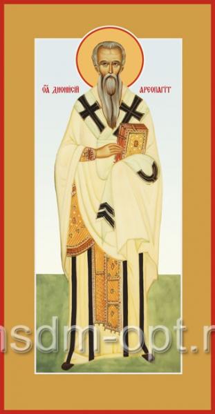 Дионисий Ареопагит, священномученик, икона (арт.556)