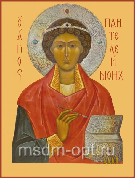 Пантелеимон великомученик и целитель, икона (арт.585)