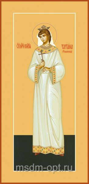 Татиана Романова мученица, царевна, икона (арт.593)