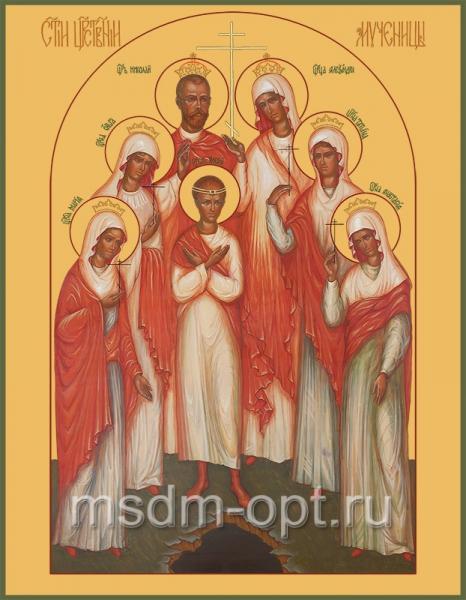 Царственные мученики, икона (арт.595)