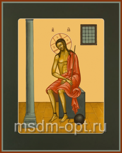Христос в темнице, икона (арт.600)