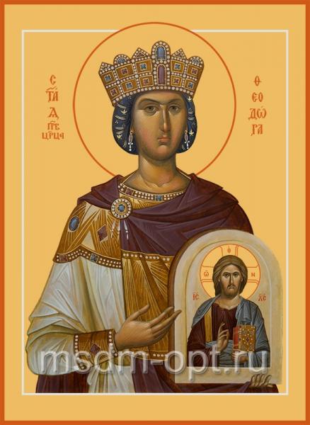 Феодора Цареградская преподобная, икона