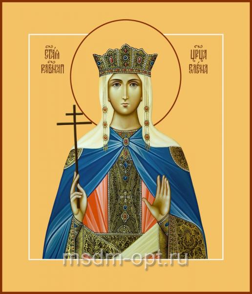 Елена равноапостольная царица, икона
