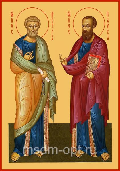 Петр и Павел апостолы, икона