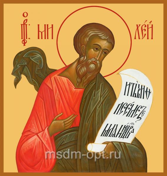 Михей пророк, икона