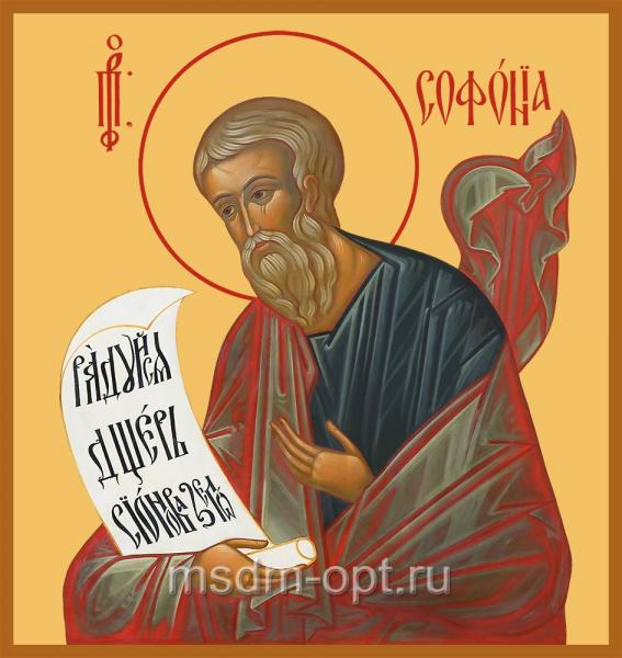 Софония пророк, икона