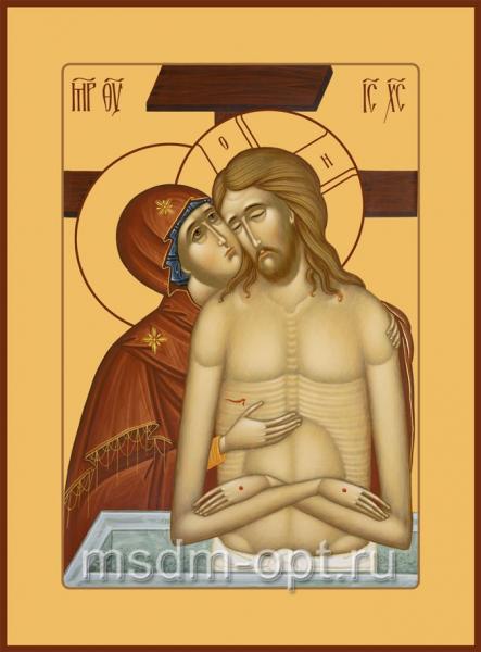 Не рыдай Мене, Мати, икона (арт. 6117)