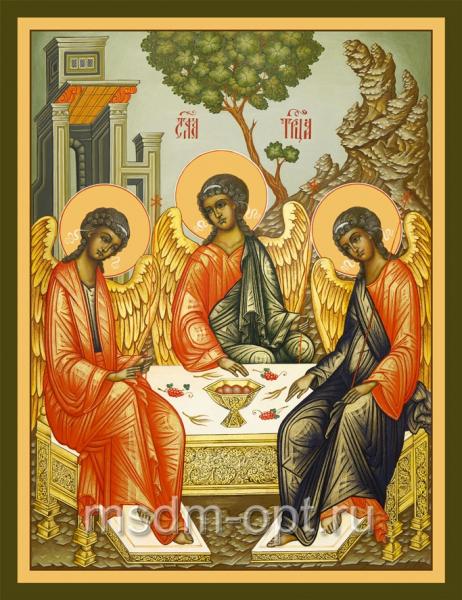Святая Троица икона (арт. 6124)