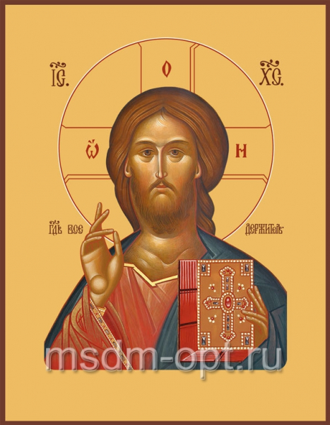 Господь Вседержитель икона (арт.6133)