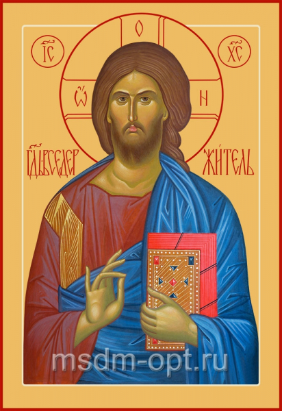 Господь Вседержитель, икона (арт.06143)