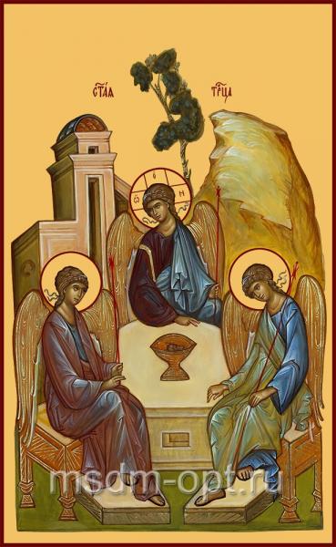 Святая Троица икона (арт.06147)