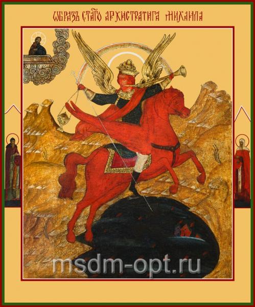 Михаил архангел грозных сил воевода, икона (арт.6154)