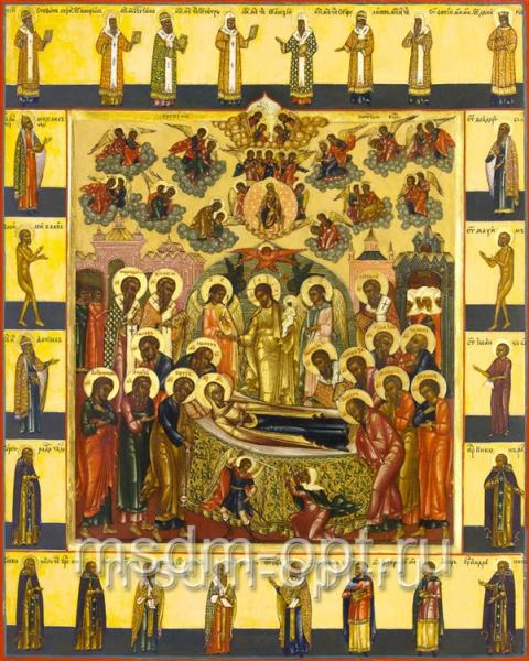 Успение Пресвятой Богородицы, икона (арт.06205)