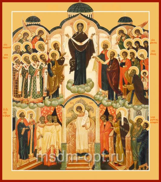 Покров икона Божией Матери (арт.6213)