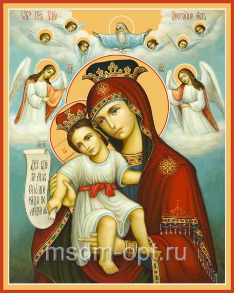 Достойно Есть (Милующая) икона Божией Матери (арт.6222)