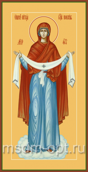 Покров икона Божией Матери (арт.6225)