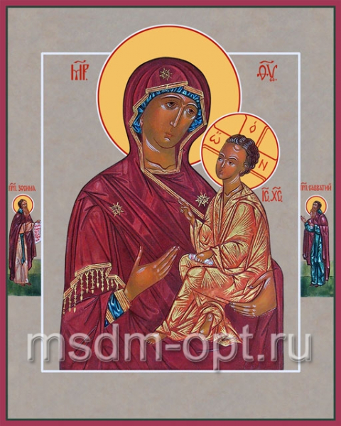 Хлебная икона Божией Матери (арт.6233)