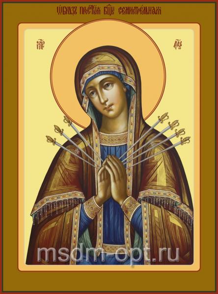 Семистрельная икона Божией Матери (арт.6244)