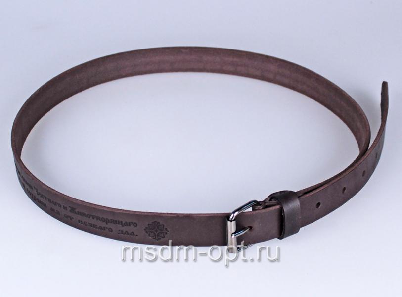 dd42a15ef836 Купить кожаный ремень с молитвой - Даниловские мастерские
