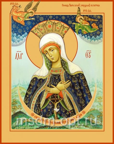 Остробрамская икона Божией Матери (арт.6259)