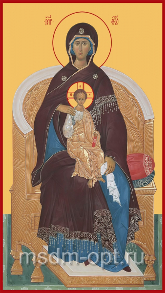 Божия Матерь на Престоле