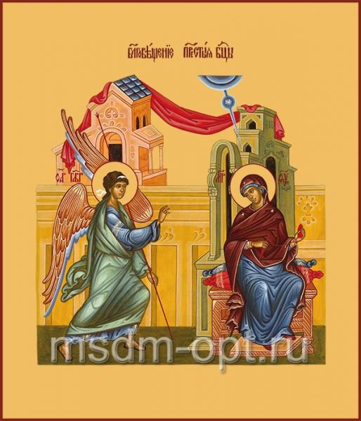 Благовещение Пресвятой Богородицы, икона (арт.633)