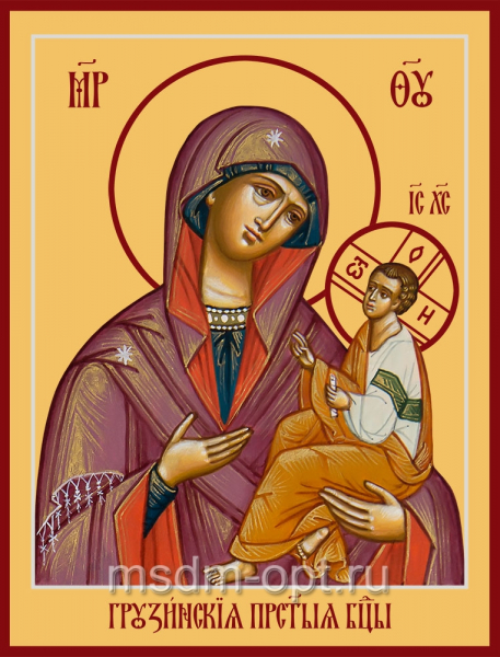 Грузинская икона Божией Матери