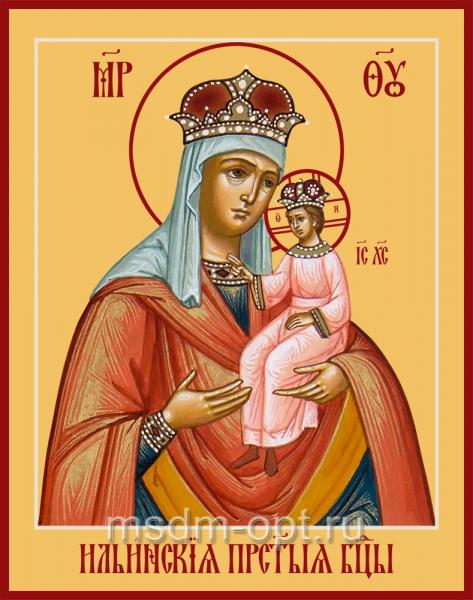 Ильинская икона Божией Матери
