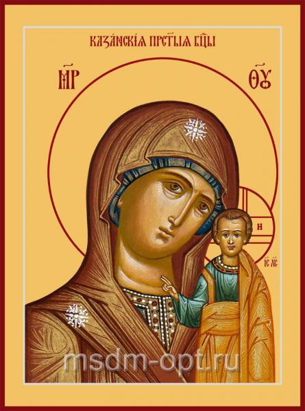 Казанская икона Божией Матери (арт.06348)