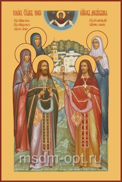 Собор Дивеевских святых, икона (арт.634)