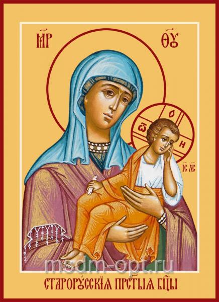 Старорусская грешных икона Божией Матери