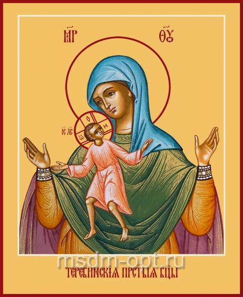Теребенская (Теребинская) икона Божией Матери