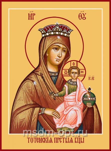 Тотемская икона Божией Матери