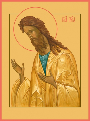 Иоанн Предтеча Креститель Господень, икона (арт.6404)