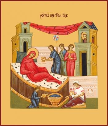 Рождество Пресвятой Богородицы, икона (арт.640)