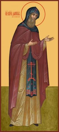 Даниил Московский благоверный князь, икона (арт.6412)