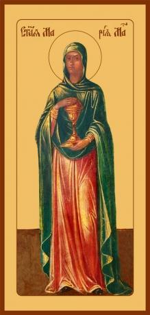 Мария Магдалина равноапостольная, мироносица, икона (арт.6413)