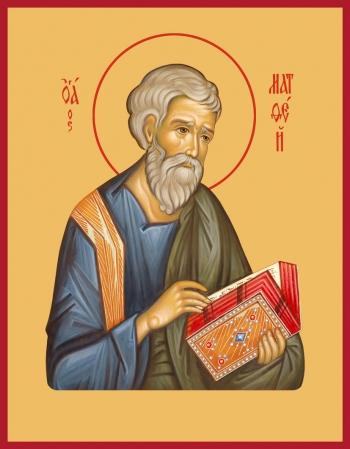 Матфей апостол, икона (арт.6419)