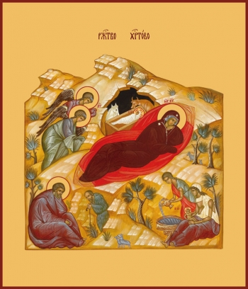 Рождество Христово, икона (арт.641)