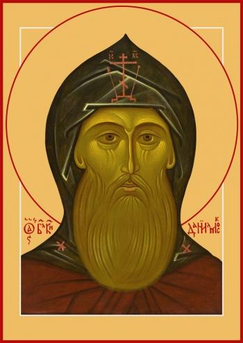 Даниил Московский благоверный князь, икона (арт.6420)