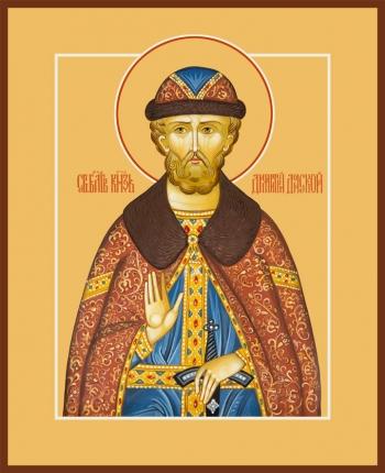Димитрий Донской благоверый князь, икона (арт.6421)