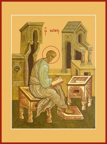 Матфей апостол, икона (арт.6427)