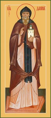 Даниил Московский благоверный князь, икона (арт.6431)