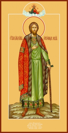 Александр Невский благоверный князь, икона (арт.6444)